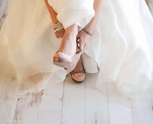 Brautschuhe – die Qual der Wahl