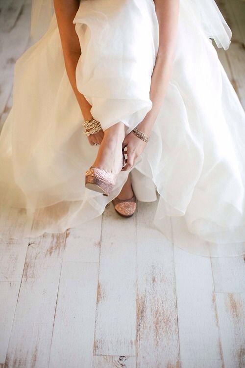 Brautschuhe - die Qual der Wahl