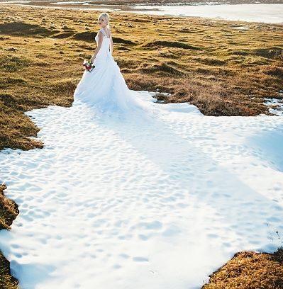 Hochzeit in der kalten Jahreszeit… auch mal was Schönes